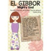 Psalms 18:1-3 Bible Journaling page