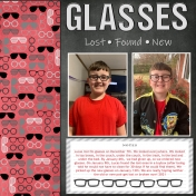 Glasses- Lost, Found, New