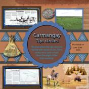 Carmangay Tipi circles