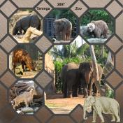 Taronga Zoo In Sydney, Australia, 2007, pg 7