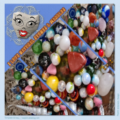 I love natural stones and marbles