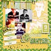 Sawyer 9th Birthday