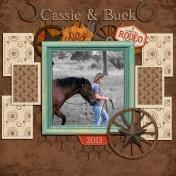 Cassie & Buck