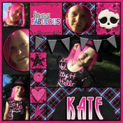 Kate's Pink Hair