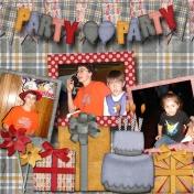 Zackary's Birthday Party 2