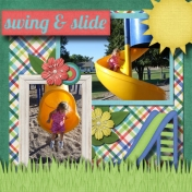 Swing and slide