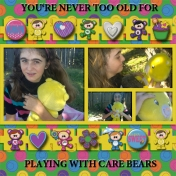 Never Too Old for Care Bears