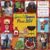 Special Olympics Picnic