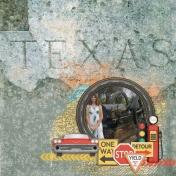 On The Road Through Texas