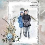 Anniversaire sous la neige