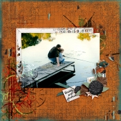 Joshua and Daddy Fishin'