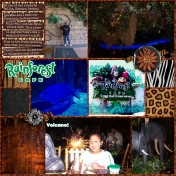 Family Album 2004: Rainforest Cafe, Page 1