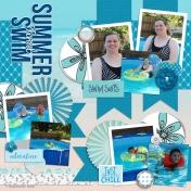 Family Album 2015: Final Summer Swim