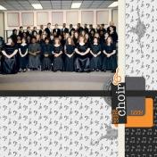 Tina's Album: Prior to 1994- THS Choir 1993