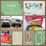 Project 365: Week 1, Page 1