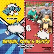Family Album 2006: Batman, Robin & Ashton