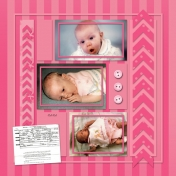 All About Me Album {Tina}: Birth, Page 2