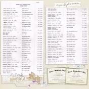 WHUMC 60th Anniversary Memory Book, Page 03