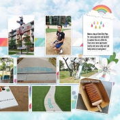 Family Album 2018: Waterside, Right Page