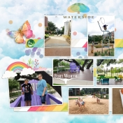 Family Album 2018: Waterside, Left Page