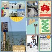 Family Album 2019: Road Trip, Day 3 / Myrtle Beach, Right