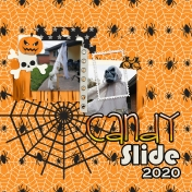 Family Album 2020: Halloween Pandemic Candy Slide