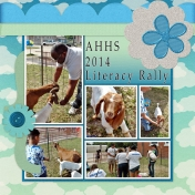"""AHHS 2014 Literacy Rally (""""Hello"""" May 2014 BT Sample)"""