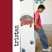 Tristan's 2014 Senior Album: Cover/Title Page