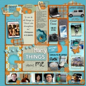 All About Me: Many Things About Me, September 2014 Edition