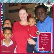 Family Album 2005: Christmas, Family Photo