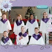 Family Album 2007: Paxtyn's Holiday Program @ Church