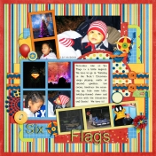 Family Album 2005: Six Flags at Christmas