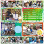 Family Album 2006: Swimming Party & Ice Cream Social
