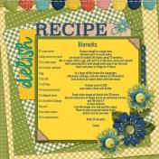 Bierock Recipe