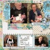 Newborn Be Still and Know