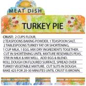 Turkey Pie Crust