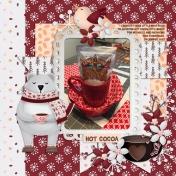 Mug Rugs and Hot Cocoa