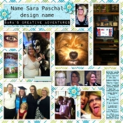 Sara's Creative Adventures in Digital Scrapbook Design