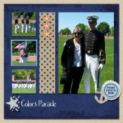 USCGA Colors Parade
