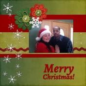 Liz and Dante Christmas '12