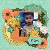 My niece Kym