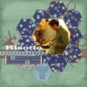 John Making Risotto