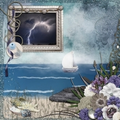 Driftwood Beach Progressive Scrap