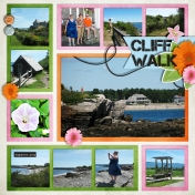 Turbats Creek Vacation Book- Cliff Walk