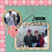 Father's Day Scrapbook Page