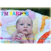 Harper Baby Announcement 2012