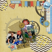 My first attempt to digital scrapbooking...