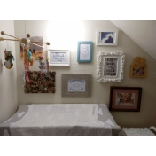 Baby Nursery Gallery Wall