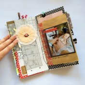 Something New Junk Journal Layout