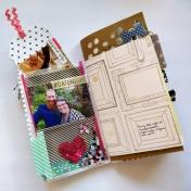 Date Night Junk Journal Layout